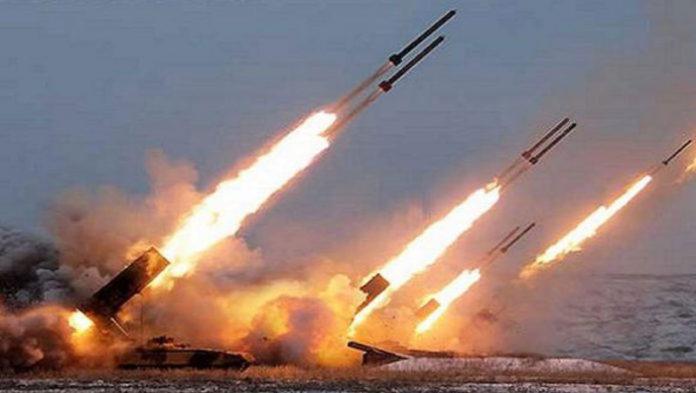 Jet militari Usa sulla Corea prove di bombardamento