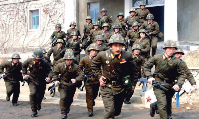 Missile dalla Corea del Nord: