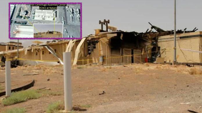 Iran nucleare: il fuoco di Natanz ha causato danni