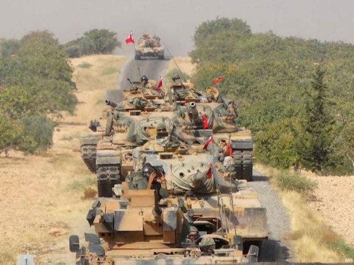La Turchia avanza sui curdi di Afrin e le grandi potenze osservano