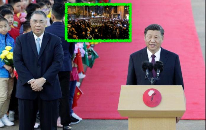 Xi Jinping a Macao per il ventennale dell'ex colonia alla Cina