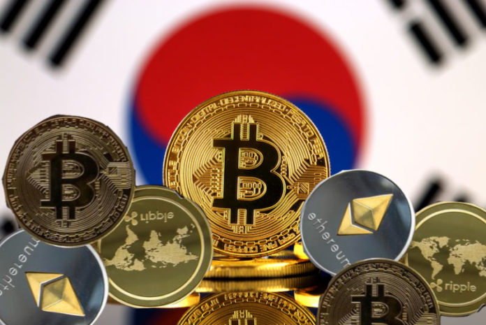 commercio di cripto corea del sud